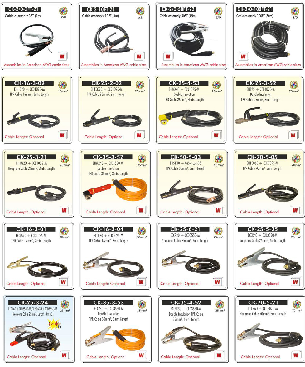 welding cable and cable kits